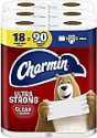Deals List: Charmin Ultra Strong Clean Touch Toilet Paper, 18 Family Mega Rolls = 90 Regular Rolls