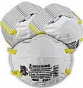 Deals List: 3M Personal Protective Equipment Particulate Respirator 8210, N95, Smoke, Dust, Grinding, Sanding, Sawing, Sweeping, 20/Pack