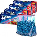 Deals List: Ziploc Gallon Food Storage Slider Bags, Power Shield Technology for More Durability, 26 Count, Pack of 4 (104 Total Bags)
