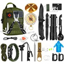 Deals List: POSO 32 in 1 Professional Survival Gear and Equipment Kit w/Pouch