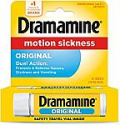 Deals List: Dramamine Motion Sickness Original, Travel Vial, 12 Count