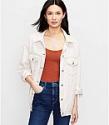 Deals List: Loft Denim Trucker Jacket In Natural White