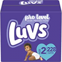Deals List: Diapers Size 2, 228 Count - Luvs Ultra Leakguards Disposable Baby Diapers, ONE MONTH SUPPLY