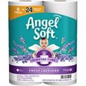 Deals List: Angel Soft Toilet Paper with Fresh Lavender Scent, 6 Mega Rolls=24 Regular Rolls, 390+ 2-Ply Sheets