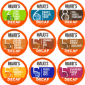 Deals List: Maud's Decaf Coffee Variety Pack, 80ct. Solar Energy Produced Recyclable Single Serve Swiss Water Processed Decaf Coffee Pods - 100% Arabica Decaffeinated Coffee California Roasted, KCup Compatible