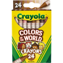 Deals List: Crayola Colors Of The World Crayons, Assorted Colors 24-Ct