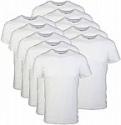 Deals List: Gildan Men's Crew T-Shirts, Multipack, White, 12-pack