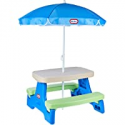 Deals List: Little Tikes Easy Store Jr. Picnic Table with Umbrella