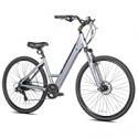 Deals List: Kent Bicycles Electric Pedal Assist Step-Through Bike, 700C Wheels, Gray E-Bike