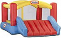 Deals List: Little Tikes Jump 'n Slide Bouncer - Inflatable Jumper Bounce House Plus Heavy Duty Blower With GFCI, Stakes, Repair Patches, And Storage Bag 106.2 Inch x 137.7 Inch x 65.7 Inch Ages 3-8 Years