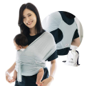 Deals List: Konny Baby Carrier Summer | Ultra-Lightweight, Hassle-Free Baby Wrap Sling | Newborns, Infants to 44 lbs Toddlers | Cool and Breathable Fabric | Sensible Sleep Solution (Mint, M)