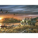 Deals List: Buffalo Terry Redlin Patiently Waiting 1000Pc Jigsaw Puzzle