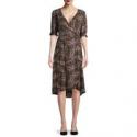 Deals List: Time And Tru Women's Woven Wrap Dress