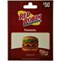 Deals List: $50 Red Robin Gift Card