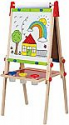 """Deals List: Hape Award Winning All-in-One Wooden Kid's Art Easel with Paper Roll and Accessories & Hape Art Paper Roll Replacement for Kid's Art Easel Paper- 15""""X 787"""""""