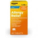Deals List: Amazon Basic Care Levocetirizine Dihydrochloride Tablets 80CT