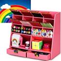 Deals List: Darfoo Kawaii Desk Organizer Storage Accessories