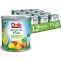 Deals List: Dole Canned Tropical Fruit in Light Syrup & Passionfruit Juice, Pineapple & Papaya, 15.25 Oz, 12 Count