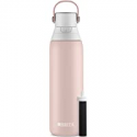 Deals List: Brita Stainless Steel Water Filter Bottle, 20 oz, Rose
