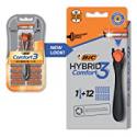 Deals List: BIC Comfort 3 Hybrid Mens Disposable Razor w/12 Cartridges