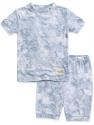 Deals List: VAENAIT BABY 12M-12Y Kids Unisex Girls & Boys Soft Comfy Modal Tencel Shirring Sleepwear Pajamas 2pcs Set