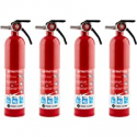 Deals List: 4-Pack First Alert HOME1 Rechargeable Home Fire Extinguisher