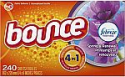 Deals List: Bounce with Febreze Scent Spring & Renewal Fabric Softener Dryer Sheets, 240 Count