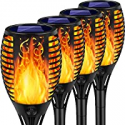 Deals List: 4PK Arrinew Outdoor Solar Torch Lights 33 LED Solar Light
