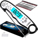 Deals List: Kizen Digital Meat Thermometers for Cooking - Waterproof Instant Read Food Thermometer for Meat, Deep Frying, Baking, Outdoor Cooking, Grilling, & BBQ