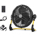 Deals List: Geek Aire Rechargeable Outdoor High Velocity Floor Fan,16'' Portable 15000mAh Battery Operated Fan with Metal Blade for Garage Barn Gym Camp, Run All Day Cordless Industrial Fan,USB Output for Phone