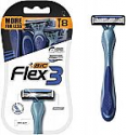 Deals List: BIC Flex 3 Titanium Men's Disposable Razor, Triple Blade, , for an Ultra Smooth and Close Shave 8 Count