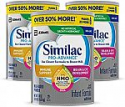 Deals List: Similac Pro-Advance Non-GMO Infant Formula with Iron, with 2'-FL HMO, for Immune Support, Baby Formula, Powder, (One-Month Supply), 2.25 Pound (Pack of 3)