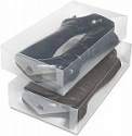 Deals List: 2-Count Whitmor Clear Vue Boot Storage Box