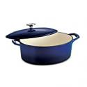 Deals List: Tramontina Covered Oval Dutch Oven 5.5-Quart Gradated Cobalt