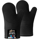 Deals List: 2-pack Gorilla Grip Slip and Heat Resistant Silicone Oven Mitts Extra Long Waterproof Flexible Gloves with Soft Quilted Lining