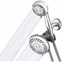 Deals List: Waterpik High Pressure Shower Head Handheld Spray, 2-in-1 Dual System with 5-Foot Hose PowerPulse Therapeutic Massage, Chrome, 2.5 GPM XET-633-643