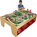 Deals List: KidKraft Waterfall Mountain Train Set & Table w/120 Accessories