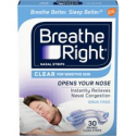 Deals List: 30-Count Breathe Right Clear for Sensitive Skin Nasal Strips