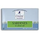 Deals List: Coastal Gourmet Sardines in Olive Oil, 4.375 oz. (Pack of 12)