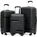 Deals List: Coidak 3 Piece Luggage Set TSA Lock Hard Shell Light