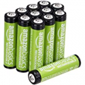 Deals List: 12-Pack Amazon Basics AAA 800 mAh Rechargeable Batteries