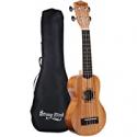 Deals List: Strong Wind Soprano Ukulele Mahogany 21-in Hawaiian Uke Guitar