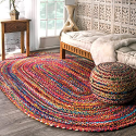 Deals List: nuLOOM Tammara Hand Braided Area Rug 4-ft x 6-ft