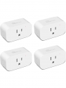 Deals List: Smart Dimmer Plug Treatlife Outdoor Smart Plug Works with Alexa and Google Home, Light Dimmer APP Remote Control, Max Power 400W, IP44 Waterproof for Dimmable Outdoor Lights, Floor Lamp, Table Lamp