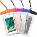 Deals List: 4PK F-color Waterproof Case Transparent PVC Phone Pouch