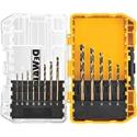 Deals List: DEWALT DW1163 Black Oxide Drill Bit Set 13-Piece