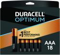 Deals List:  18-Ct of Duracell Optimum AAA Batteries
