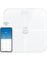 Deals List: RENPHO Body Fat Scale Smart BMI Scale Digital Bathroom Wireless Weight Scale, Body Composition Analyzer with Smartphone App sync with Bluetooth, 396 lbs