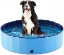 Deals List: Jasonwell Foldable Dog Pet Bath Pool Collapsible Dog Pet Pool Bathing Tub Kiddie Pool for Dogs Cats and Kids , S, 32 inch