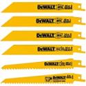 Deals List: DEWALT Reciprocating Saw Blades Cutting Set, 6-Piece